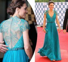 A Duquesa de Cambridge tem mostrado mais o corpo, caprichado na beleza e economizado! Ela usou o mesmo modelo Jimmy Choo em menos de três dias