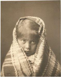 Navajo girl - 1904