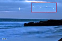 Giant UFO Immortalized by a Witness in California