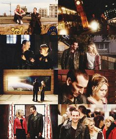 FAVORITE RELATIONSHIPS IN DOCTOR WHO(romantic or not romantic) ↳ The Ninth Doctor and Rose Tyler