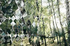 Mirage pavilion for Sziget Festival by Studio Nomad