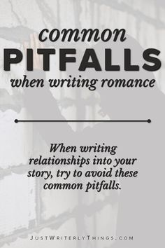 Mistakes when writing romance can be unsavory to readers. When writing relationships into your story, make sure to avoid these 5 common pitfalls. Writing Genres, Book Writing Tips, Fiction Writing, Writing Resources, Writing Skills, Writing Prompts, Writing Goals, Romance Tips, Writing Romance