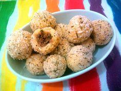 Bolinho de batata com atum (calorias reduzidas)