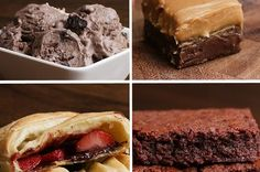 The 3 Week Diet Weightloss - Chocolate Desserts - A foolproof, science-based diet.Designed to melt away several pounds of stubborn body fat in just 21 libras en 21 días! Easy Desserts, Delicious Desserts, Dessert Recipes, Yummy Food, Quick Dessert, 3 Ingredient Desserts, 3 Ingredient Brownies, Chocolate Desserts, Oreo Desserts