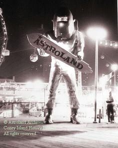 Astroman - Astroland, Coney Island 1960s