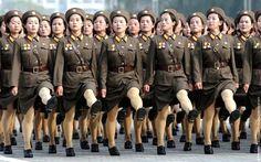 Women Soldiers of North Korea