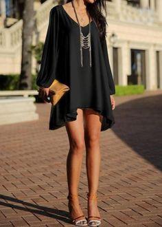 Lonesome Dove Chiffon Tunic Dress