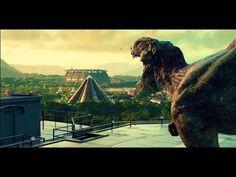 Jurassic World T Rex vs Indominus Rex (SPOILER)1080p HD - YouTube