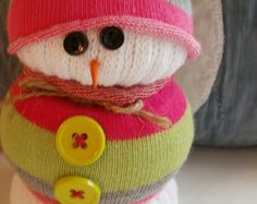 Sock Snowman...by Janet