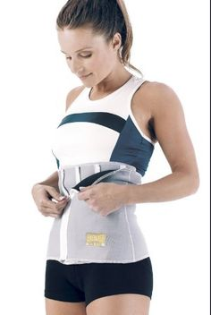 Sauna back support and trimming belt. Great for during workouts and perfect for after pregnancy!