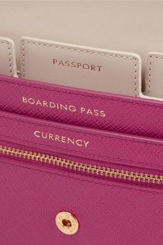 travel wallet. Have no idea what this particular travel wallet costs, but I love the idea. Bet I could get something similar at Marshalls.