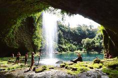 Omanawa Falls, New Zealand