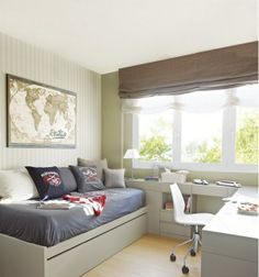 Spare room office add a trundle bed for extra guest