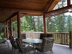 LOG HOME w/rushing creek, views of Schweitzer Resort, & a separate rustic cabin. Home remodeled in 2008. Loft complete Master Suite w/office area, walk-in closet, & bath. Covered decking for entertaining. 3 car carport, one car garage and shop area. Separate creek-side cabin (no value given to it) has 1 bed/1 bath. Nicely landscaped. 2 miles north of town. SHORT SALE PRICE ALREADY BANK APPROVED.. #zillow