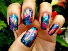 Galaxy Nails - Imgur