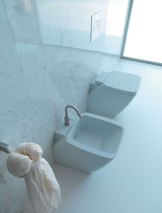 Part of Hastings' Atmosfere collection, fireclay ceramic toilets