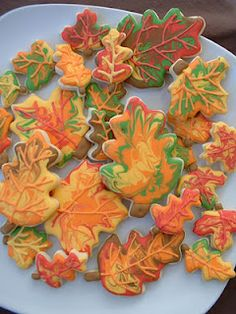 love these fall cookies
