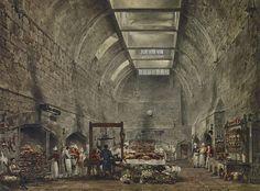 Windsor Castle, Kitchen, by James Stephanoff, 1818 - royal coll 922094 313681 ORI 2.jpg