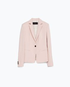 Image 6 of DOUBLE FABRIC BLAZER from Zara