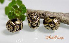 TierraCast Large Hole Lion Euro Pandora Bead by AmberEnvelope, $3.16
