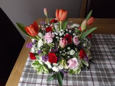 Table Dec by Brig's Flowers