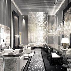 ニューヨークの待望のバカラホテルでファーストルック