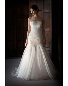 Augusta Jones 2013 Glamouröse Bodenlange Hochzeitskleider aus Organza