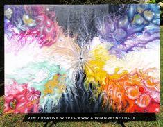 Start of something new + airbrushing just gloss varnish to finish..... 100x70cm  For more information check out my website: www.adrianreynolds.ie  #art #artwork #acrylicfluidart #acrylicfluidpainting #artforsale #artforsaleonline #abstractart #contemporaryart #bespokeart #creative #fineart #customart #airbrushing #commissionart #artoftheday #artgallery  #artistsofinstagram #artlovers #artista #artstudio #painting #canvas #abstract #arts_promotes #artforhome #rencreativeworks Art For Sale Online, Painting Canvas, Creative Words, Custom Art, Airbrush, Art Day, Home Art, Special Gifts, Contemporary Art