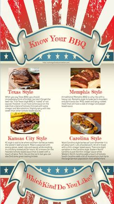 Carolina, Texas, Memphis, Kansas City, or other regional variations - we LOVE barbecue in the USA!
