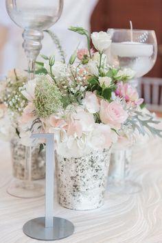 wedding centerpiece idea; 13:13 Photography