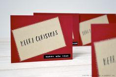 Chèvre culinaire: [DIY] Weihnachtspost, Geschenkanhänger & Geschenkverpackungsidee
