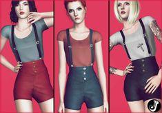 Jocker Sims : Paradise City Outfit