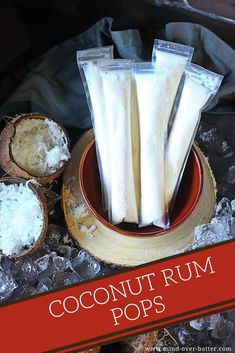 Ingredients 2 cups Coconut milk fresh or canned ¼ cup Heavy cream cup Coconut Rum 1 heaping cup Sweetened flaked coconut ¾ - 1 cup Sweetened condensed milk Dessert Drinks, Party Drinks, Cocktail Drinks, Fun Drinks, Party Desserts, Beverages, Cocktails, Cocktail Recipes, Dessert Recipes
