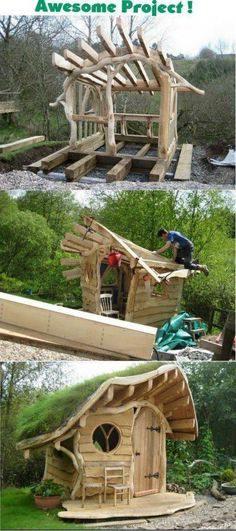 Amazing Shed Plans - How To Build A Shed Free Videos Cheap Shed Plans - Now You Can Build ANY Shed In A Weekend Even If You've Zero Woodworking Experience! Start building amazing sheds the easier way with a collection of shed plans! Outdoor Projects, Garden Projects, Wood Projects, Garden Crafts, Furniture Projects, Woodworking Projects Diy, Woodworking Plans, Woodworking Furniture, Woodworking Shop