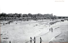 1925 Postcard of Redcar beach