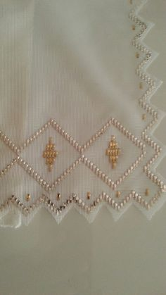 Bargello, Work Blouse, Blouse Designs, Brooch, Embroidery, Beads, Block Dress, Needlepoint, Table Toppers