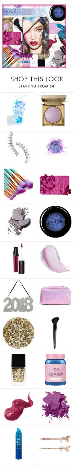 """""""#PolyPresents: Sparkly Beauty"""" by sierrrrrra ❤ liked on Polyvore featuring beauty, The Gypsy Shrine, Stila, Beauty Is Life, FCTRY, Too Faced Cosmetics, Bobbi Brown Cosmetics, Laura Mercier, Maybelline and Smith & Cult"""