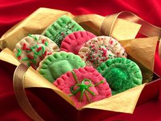 Holiday Surprise Sugar Cookies...........