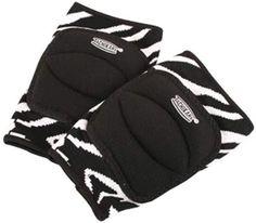Zebra Print Knee Pads