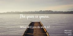 The year is yours.  Happy New Year 2016.  #courtreporting