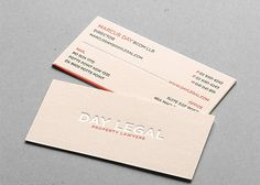 27 best legal design images on pinterest icon set icons and day legal cotton letterpress business card by taste of ink studios via creattica reheart Image collections
