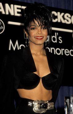The 50 Best, Most Outrageous Janet Jackson Looks - Celebrities Janet Jackson 90s, Jo Jackson, Jackson Family, Michael Jackson, Paris Jackson, Hip Hop Americano, Afro, The Jacksons, Becky G