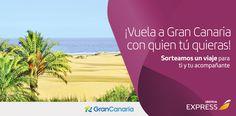 ¡Apúntate y ayúdame a ganar un vuelo a #GranCanaria con @iberiaexpress! @visitalapalma