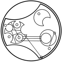 """""""I aim to misbehave"""" in circular Gallifreyan requested by vickymunster- - They have it they have it they have it *repeat*"""