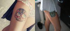 Inspiração: Tatuagens de caveira mexicana.   Overdose V.I.P