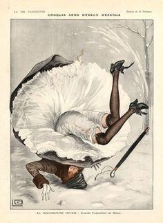 "marinni | ""Elégante Parisienne""-""Элегантная парижанка"". Картинки из журналов начала 20-го века."