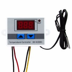 220V Digital LED Temperature Controller 10A Thermostat Control Switch Probe thermometer NEW #Affiliate