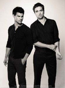 Let's be serious I love them, I love twilight and I'm not ashamed...but that's probably because I'm no longer wildly obsessed