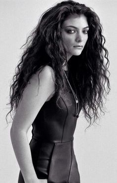 Lorde Outtake // New Yorker Magazine // 2