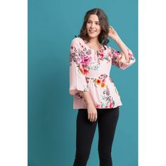 6c5a8f07e43a5 Pink is the colour of folle so is the colour of girls. This floral pink